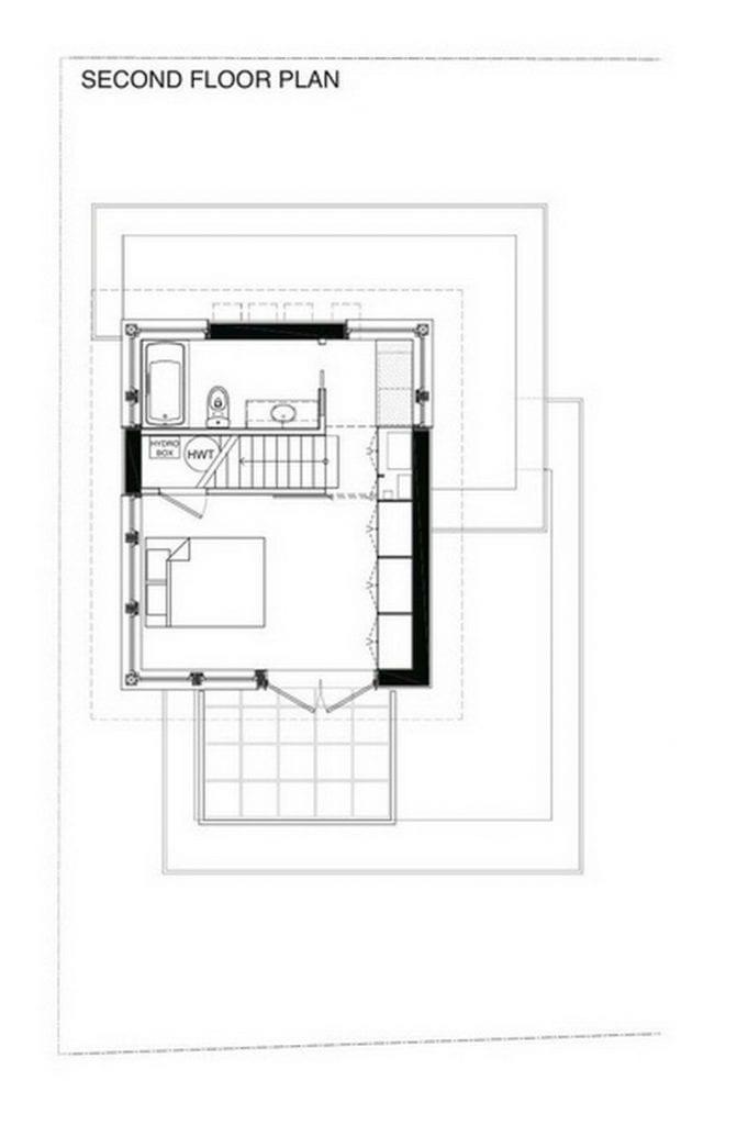 57th and Vivian Modular Prefabricated and Net Zero Solar – Laneway House Floor Plans