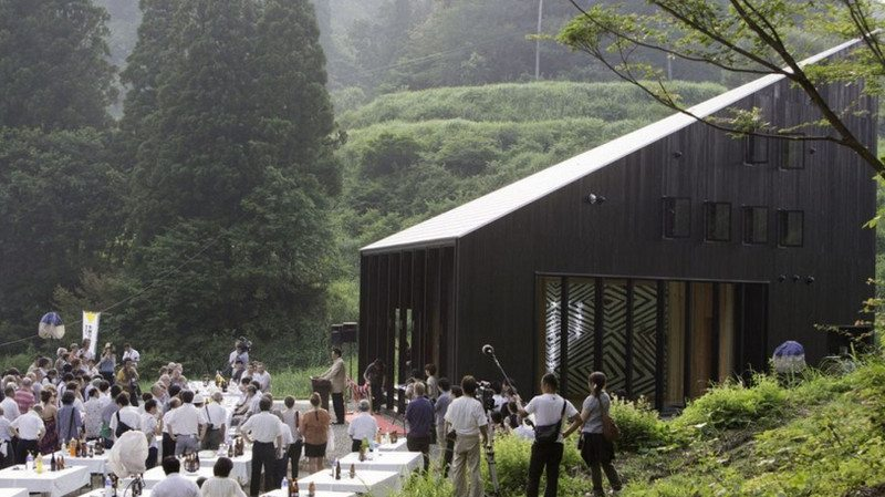 Australia House - a gallery / atelier for Australian artists in Japan