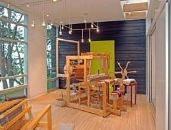 Weaving Studio - San Juan Island, WA