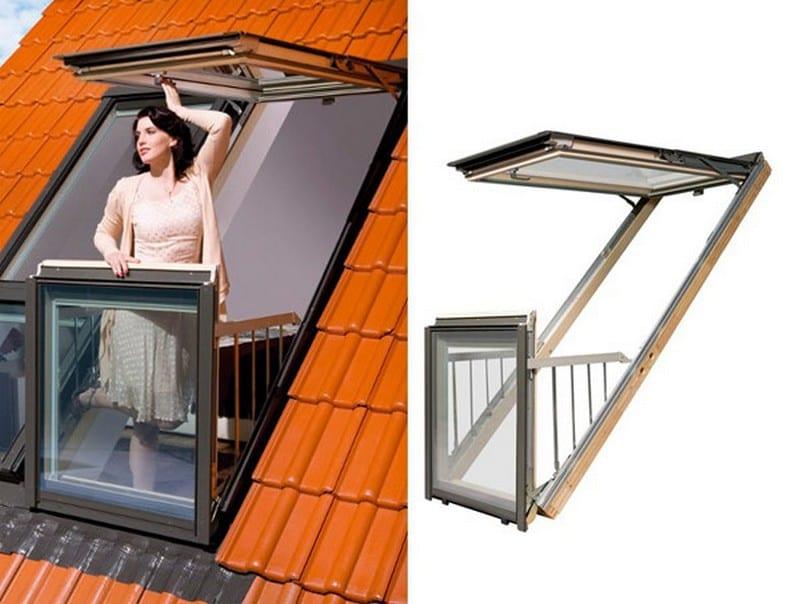 Fakro Balcony System