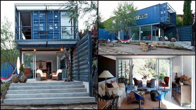 Casa El Tiamblo container home