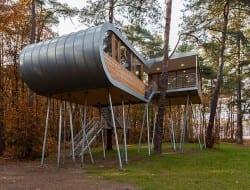 The Baumraum Treehouse Belgium