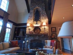 Cow Rock Cottage - Fireplace