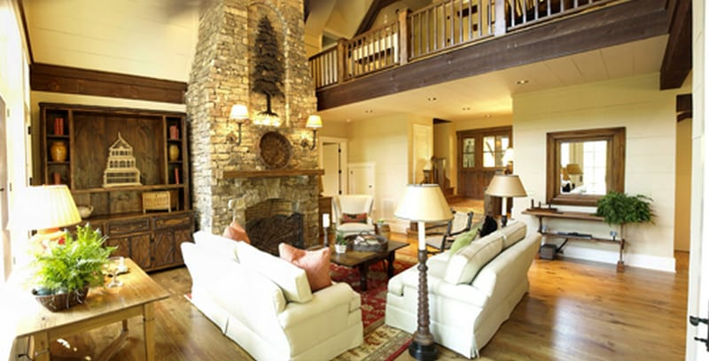 Cow Rock Cottage - Living Room