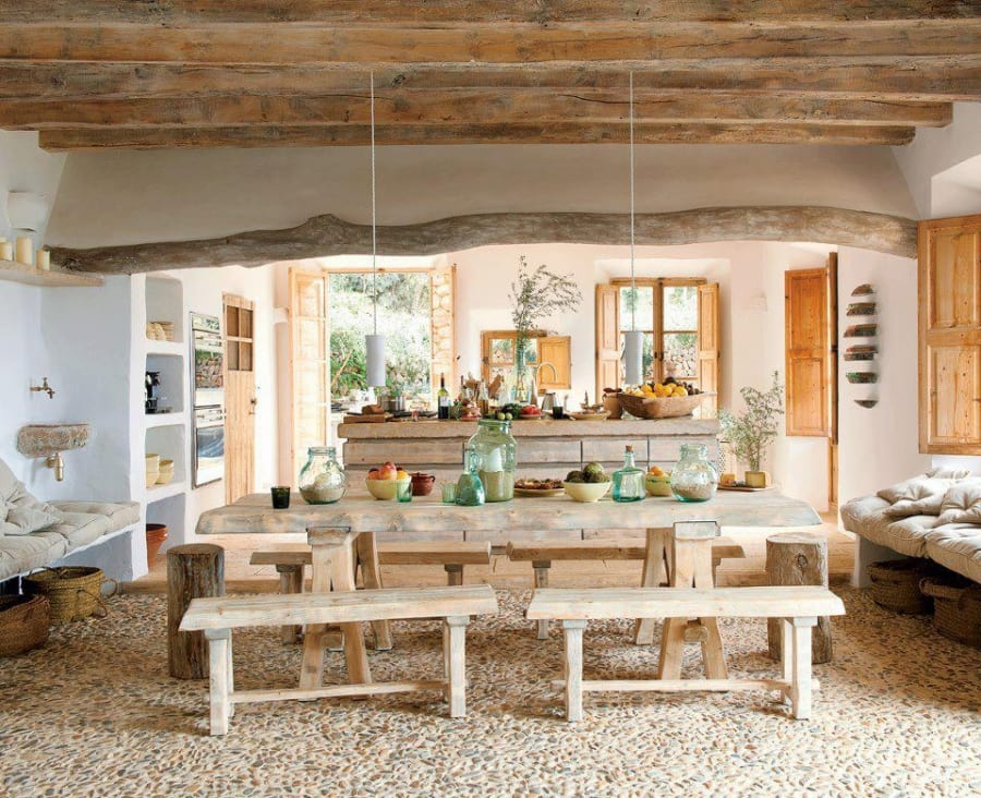 What do you like and what would you change in this dining area?