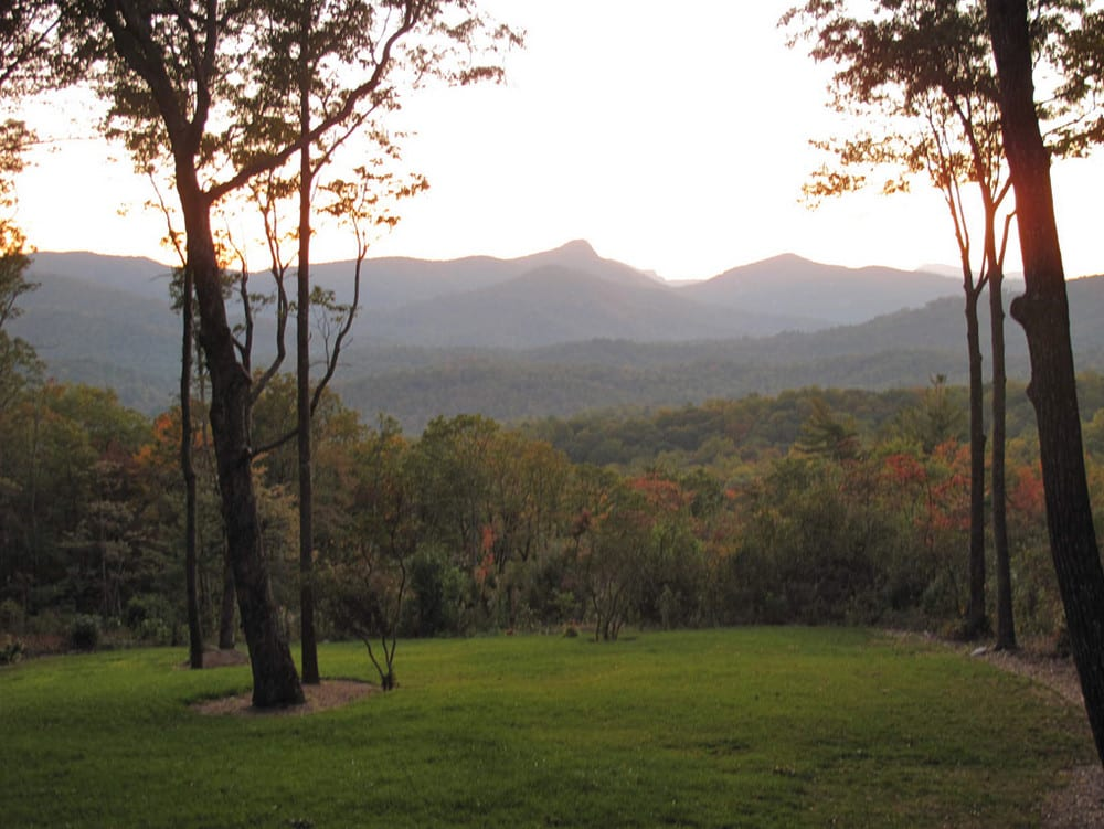 Rock Mountain Cottage Cashiers NC - View From Porch