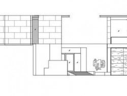 Daeyang Gallery and House - Elevation 01