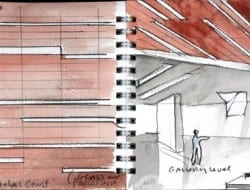 Daeyang Gallery and House - Watercolor 03