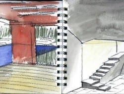 Daeyang Gallery and House - Watercolor 04