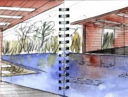 Daeyang Gallery and House - Watercolor 05