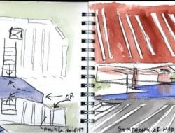 Daeyang Gallery and House - Watercolor 06