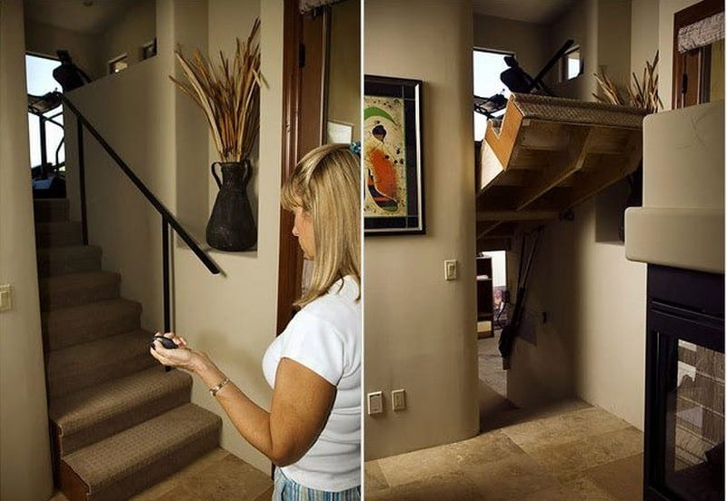 Not something you'd be doing every day! Extraordinary security arrangement. Do you want the number of the installer?