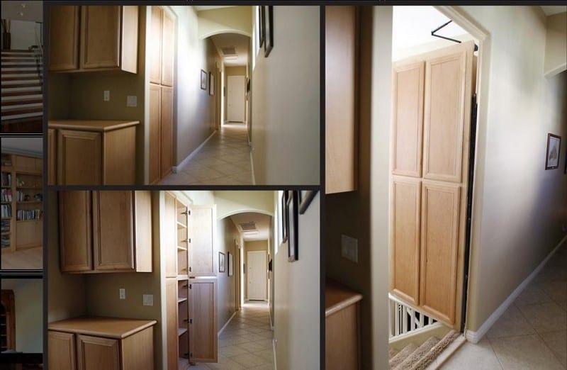 Secret rooms secret rooms hidden rooms panic rooms for Meuble avec cachette secrete