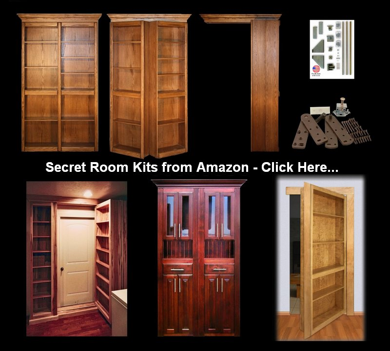 Secret rooms kits from Amazon