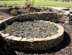 Spiral Garden Bed - Callum Grey