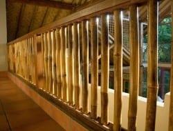 Bamboo balustrading