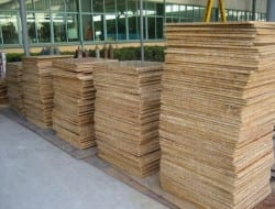 Bamboo building panels