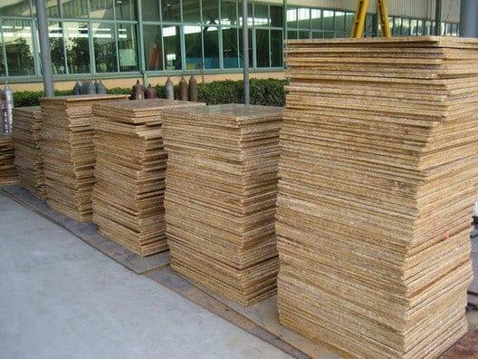 Bamboo building panels