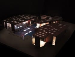 Daeyang Gallery and House - Seoul, Korea - Concept Model