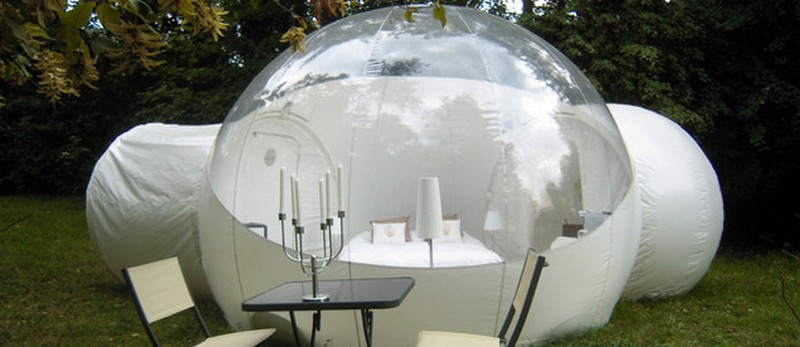 Living In A Bubble The Owner Builder Network