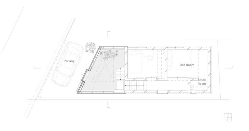 House in Seya - Ground Floor Plan