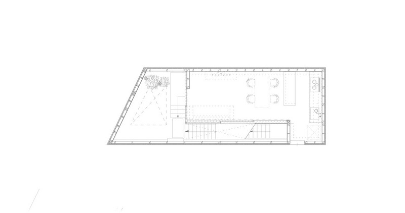 House in Seya - Second Floor Plan