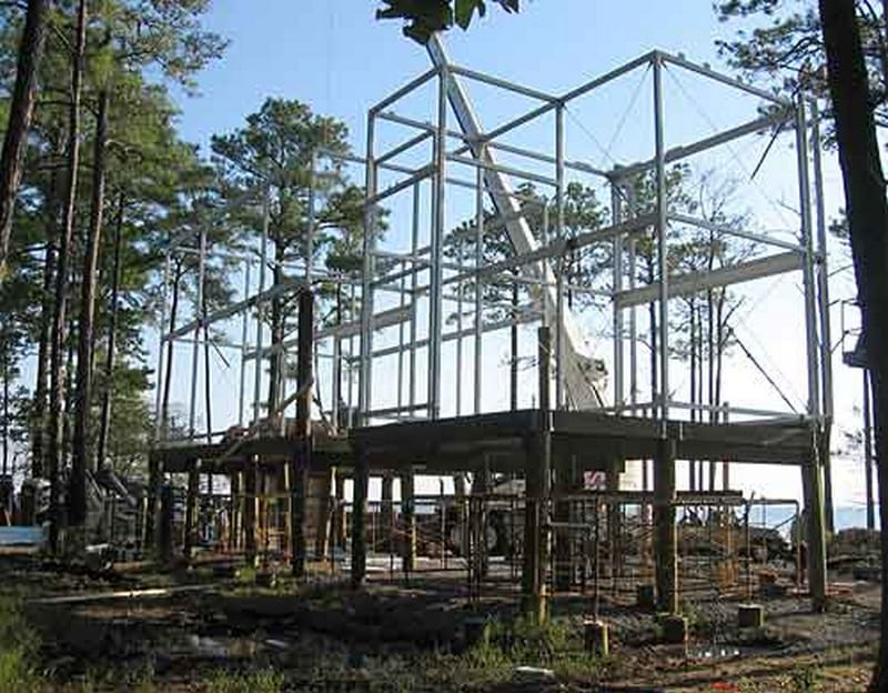 Loblolly House - Construction