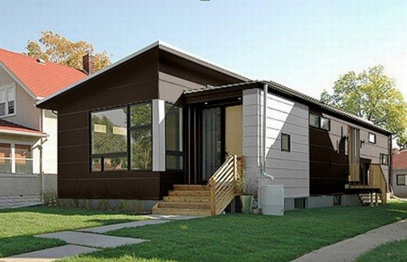 Small contemporary prefab home hive modular for Hive homes