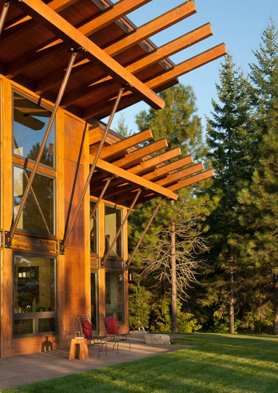 Suncadia by PrecisionCraft Log and Timber Homes