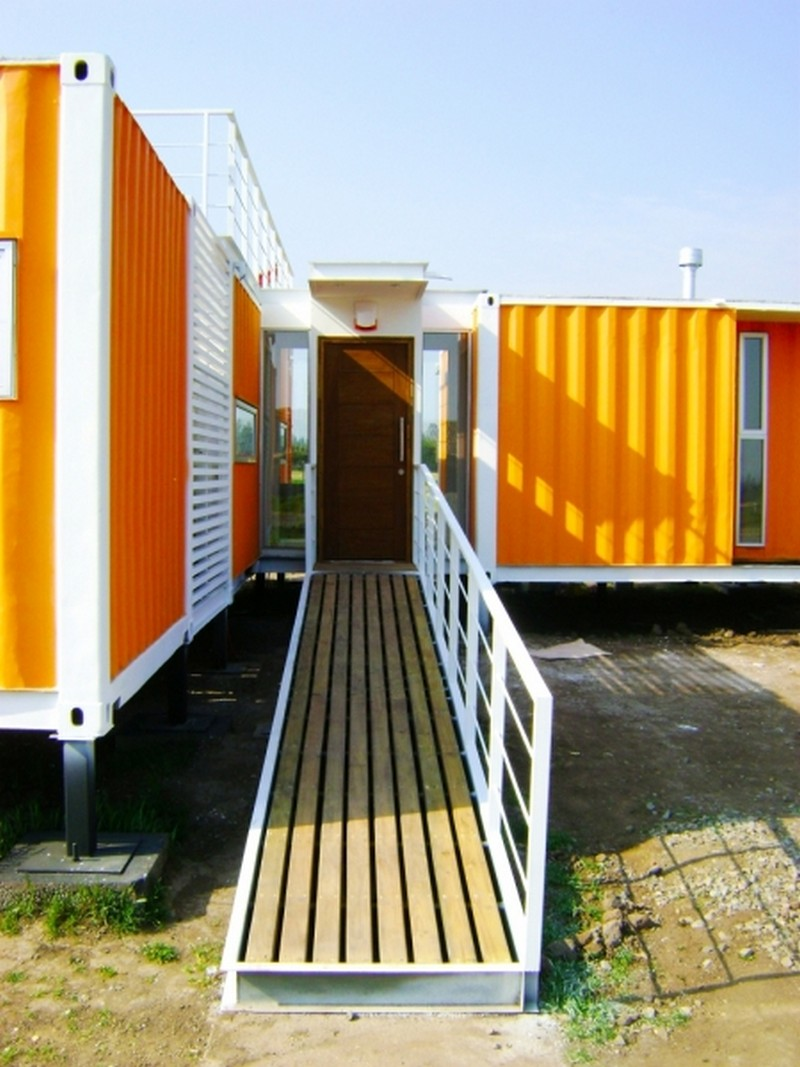 Liray container home the owner builder network for Casa in container