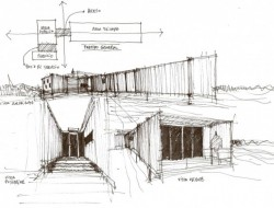 Bright Cargo Container Casa in Chile - Plan 1