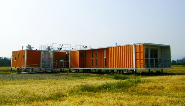 Bright Cargo Container Casa in Chile