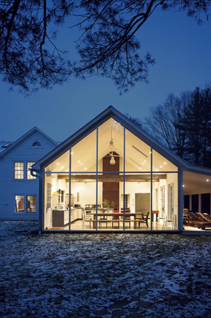 Floating Farmhouse - Narrowsburg, New York