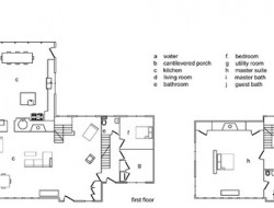Floating Farmhouse - Floor Plans