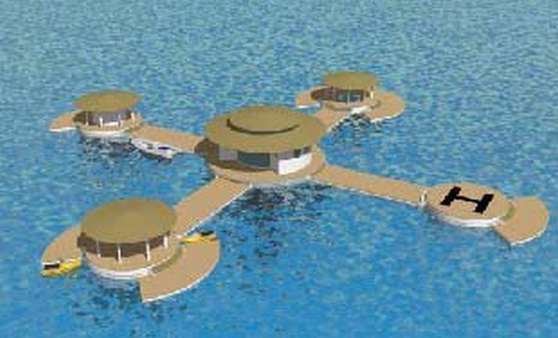 Hotels futuristes also The Jules Undersea Lodge Florida Guests DIVE 21FT Enter together with Five Most Interesting Restaurants additionally Lost City Of Atlantis Found On Google in addition H2ome U S Submarine Structures Llc. on poseidon underwater el building home