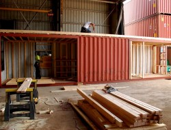 The First Container Home in the Hamptons - Factory 3