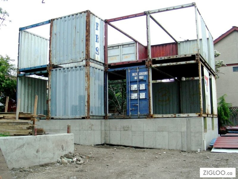 Zigloo domestique the owner builder network for Construction container