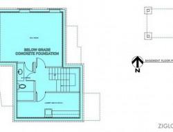 Zigloo Domestique - Basement Floor Plan