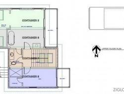 Zigloo Domestique - Upper  Floor Plan