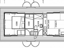 Arkiboat Houseboats - Plan 1