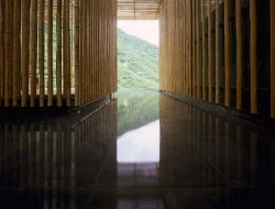 Great Wall House by Kengo Kuma