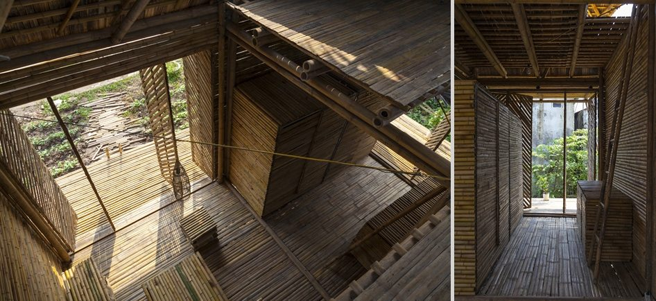 Bamboo remains a massively under-rated building material in the west.