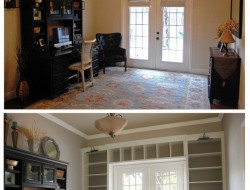DIY Built-In Bookcase - The Owner-Builder Network