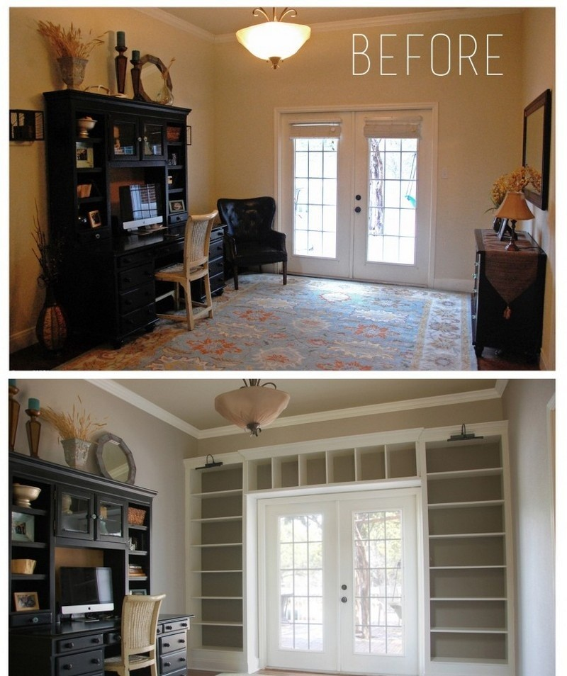 Perfect DIY Built In Bookcase   The Owner Builder Network Design Ideas