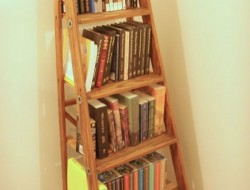 Ladder Bookshelf - The Owner-Builder Network
