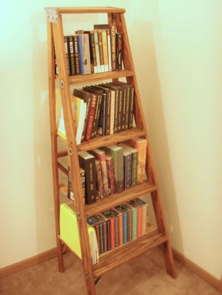 Ladder Bookshelf - The Owner-Builder Network