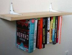 DIY Inverted Bookshelf - The Owner-Builder Network