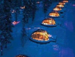 Sleep under the northern lights!