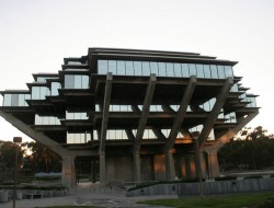 UCSD Geisel Library - San Diego, California, USA