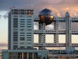 Fuji television building - Tokyo, Japan